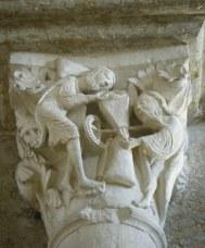 Vezelay carving web